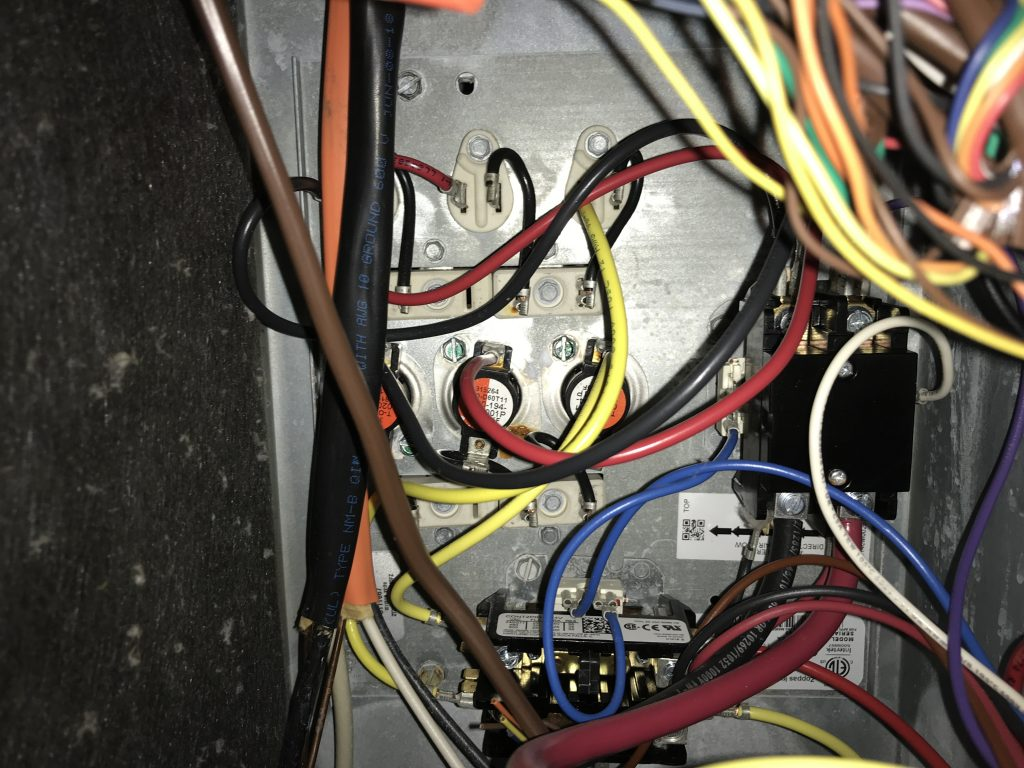 heat coils for heat pump heating system